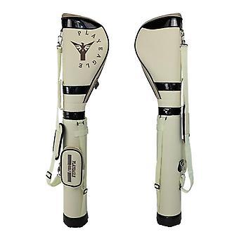 Golf Gun Bag Contain Half Clubs Set, Elastic Stretch, Stand Bag