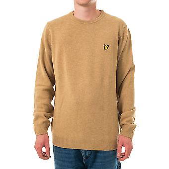 Pull homme lyle & scott crew neck lambswool blend jumper kn921vf.w122