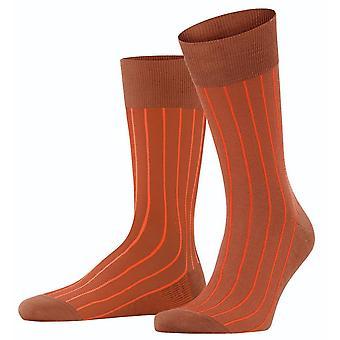 Falke Oxford Neon Socks - Copper Coin Orange