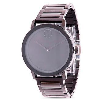 Movado vet zwart herenhorloge 3600538