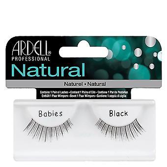 Ardell Natural Babies Black Easy To Apply Full False Eye Lashes