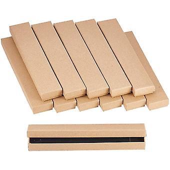 FengChun 12Karton Schmuck Set Box, Fr Armbnder, Halskette, Rechteck, 2142cm Hautfarben