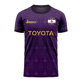 Fiorentina 2020-2021 Home Concept Football Kit (Libero) - Kids