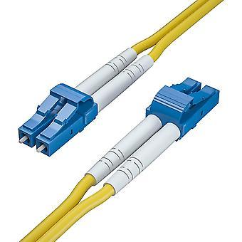 FengChun OS2 LC zu LC LWL Patchkabel 5m, 9/125 Singlemode Duplex Glasfaserkabel Fiber Patch Kabel