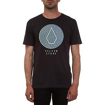 Volcom säröillä Lyhythihainen T-paita musta
