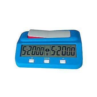 1PC tragbare Kunststoff Shell Schach Grundlegende digitale Uhr Spiel Party Timer Erwachsene | Gags & Praktische Witze