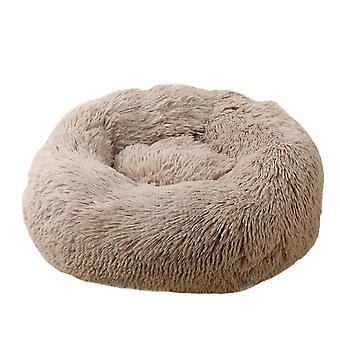 60X20cm khaki kutya macska bedround önmeleg nyugtató kisállat bedsoft kiskutya kanapé x7837