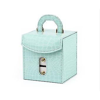 Sinisen tytön kannettava korujen säilytyslaatikko x5041