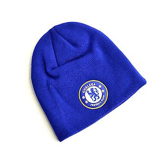 Chelsea strikket Crest Beanie Royal Blue