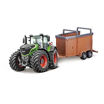 Fendt 1000 Vario & Livestock Forwarder Traktor Modell
