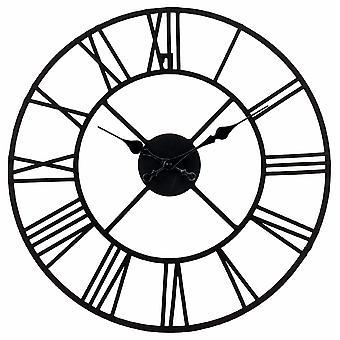 Metal ur, romertal 40cm