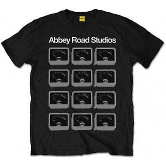 Abbey Road Studios VU Meters Mens Black T Shirt: XXL