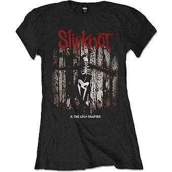 Slipknot - The Gray Chapter Album Dame Liten T-skjorte - Svart