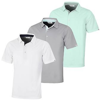 Proquip Mens 2021 Pro-Tech Peached Moisture Wicking Golf Polo Shirt
