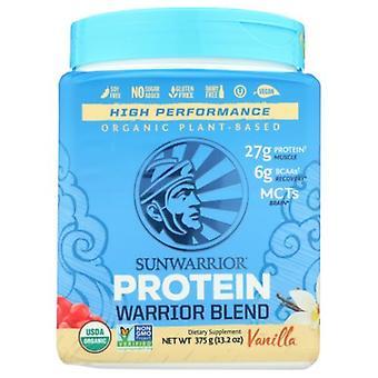 Sunwarrior Warrior Blend Organic Plant Based Protein, Vanilla 375 Grams