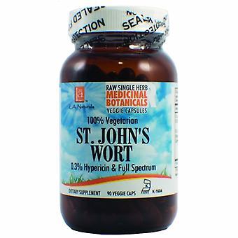 L. A .Naturals St. John's Wort Raw Herb, 90 Veg Caps