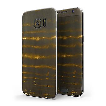 Verticle Golden Wire - Full Body Skin-kit para o Samsung Galaxy S7 Ou