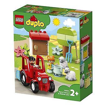 Playset Duplo Farm Tractor & Animal Care Lego 10950 (27 pcs)