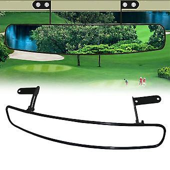 Uniwersalne szerokie lusterko z tyłu Wypukłe lusterko do wózka golfowego