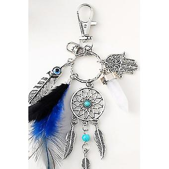 Creative Simple Turquoise Keychain Car Hanging New Strange Couple Key Chain Bag Pendant