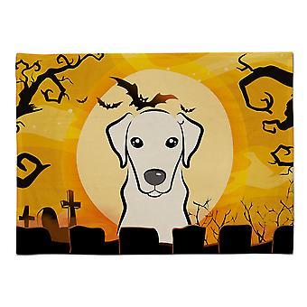 Caroline's Treasures BB1780PLMT Halloween Gelb Labrador Stoff Tischset, Multicolor