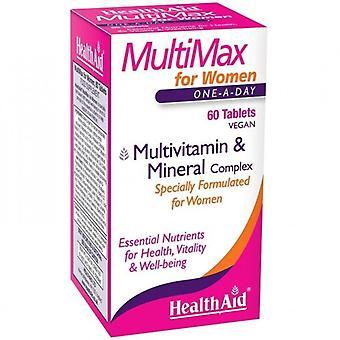 HealthAid MultiMax Naisille Tabletit 60 (803187)