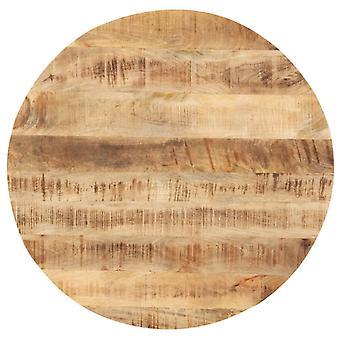 vidaXL Pöytä Ylhäällä Massiivipuu Mango Pyöreä 25-27 mm 70 cm