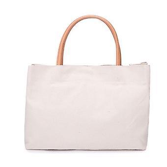 Холст женщин-апос;s плечо мешок Портативный торговый мешок многоразовые продуктовые Tote сумочку