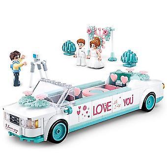 تجميعها بناء الزفاف تعويم الأولاد والبنات لعب الأطفال لعبة الدماغ| كتل التراص (أبيض)
