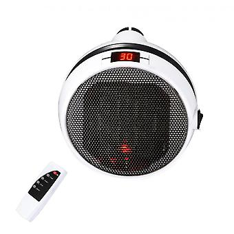 Portable Electric Space Heater With Thermostat,1000w Safe Heater Fan,remote Control, Led Display