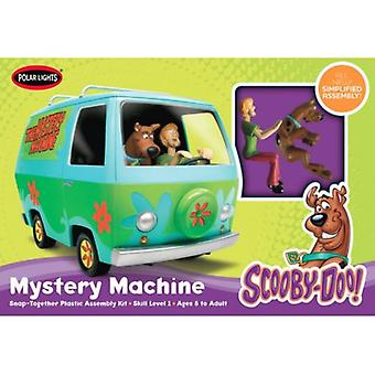 Scooby Doo Mystery Machine inc Figures Snap Together Model Kit Polar Lights 0901