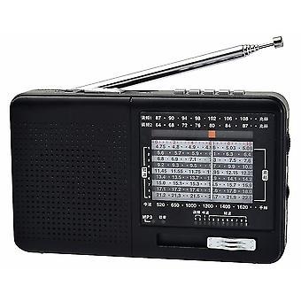 Fm Radio Am Sw Radio portable à ondes courtes et lecteur Mp3
