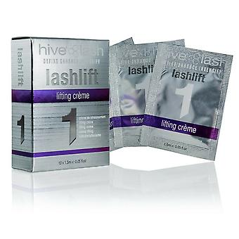 Hive of Beauty Lashlift 1 Define Förbättra ögonfranslyftning Creme 10 x 1,5 ml