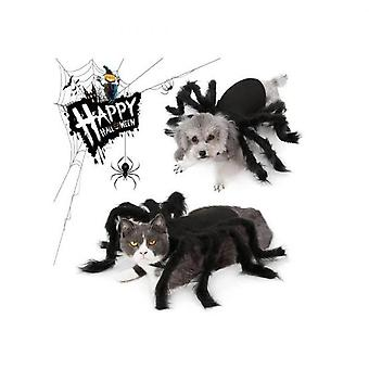 Hywell Halloween Spider Dog Costume, Pet Costume, Cosplay Spider Cat And Dog Game Costume