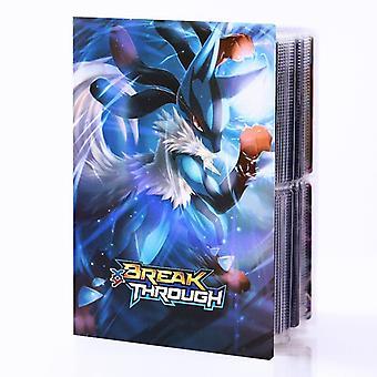 240 Cards Map Favorites Pokmon Album Book Pokmon Holder Game Cards Children's Birthday Christmas