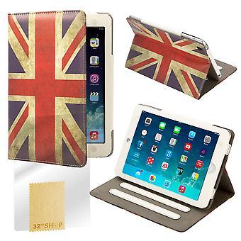 Boek lederen Case Cover voor Apple iPad Mini - Union Jack Britse vlag ontwerp