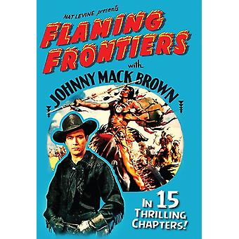Flaming Frontiers [DVD] USA import
