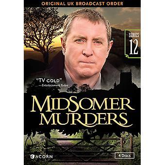 Midsomerin murhat sarja 12 [DVD] USA tuonti