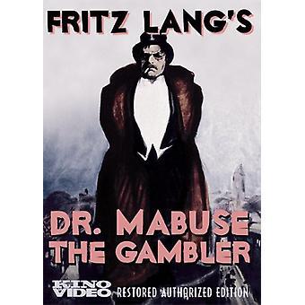 Dr Mabuse the Gambler [DVD] USA import