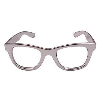Wayfarer Silberbrille Sonnenbrille Brille Sunglass Scherzbrille