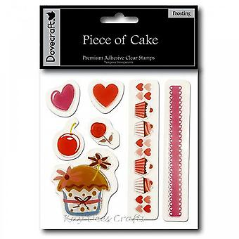 Dovecraft Piece Of Cake - Clear Stamps - Frosting**^