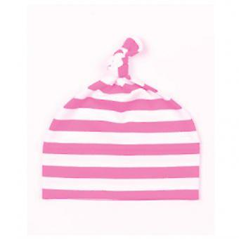 Babybugz Stripy 1 Knot Hat / Baby And Toddlerwear