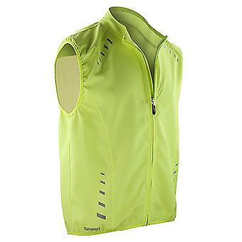 Spiro Mens Bikewear Crosslite Training Gilet / Sports Bodywarmer