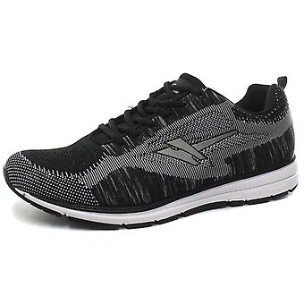 Gola Active Fortuna Black Mens Trainers