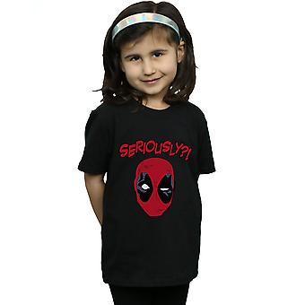 Marvel Girls Deadpool Seriously T-Shirt