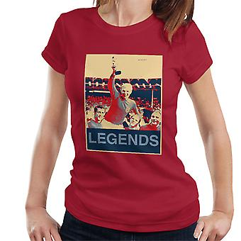 1966 World Cup Final England Bobby Moore Jules Rimet Trophy Women's T-Shirt