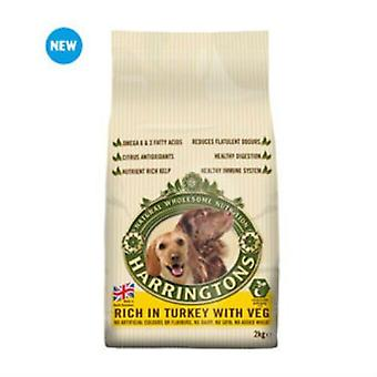 Harringtons Adult Dog Food with Turkey and Vegetables (2kg)