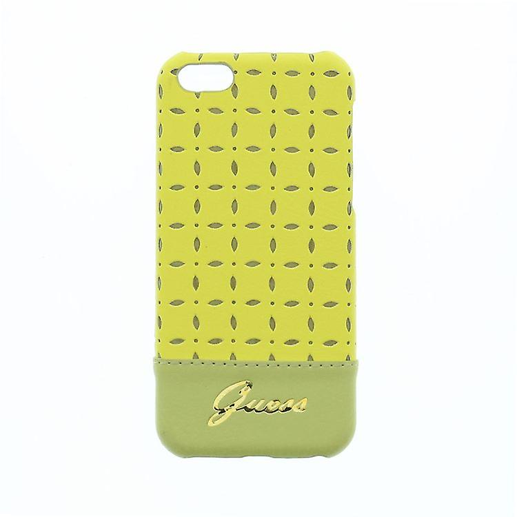 Guess Gianina Hard Cover case for iPhone 5C - yellow