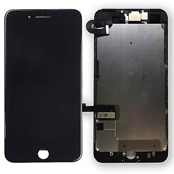 Wszystko w jeden wyświetlacz LCD kompletne jednostki wyświetlacza dotykowego dla Apple iPhone 7 plus 5,5 cala czarna wstępnie zmontowane