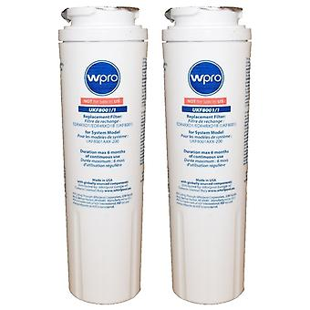 2 x Maytag AC2228HEKB and AS2628HEKB Fridge Water Filter Replacement UKF8001/1